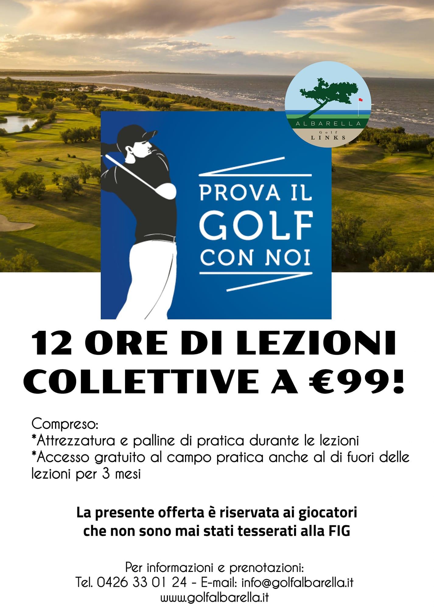 Golf a 99 Euro